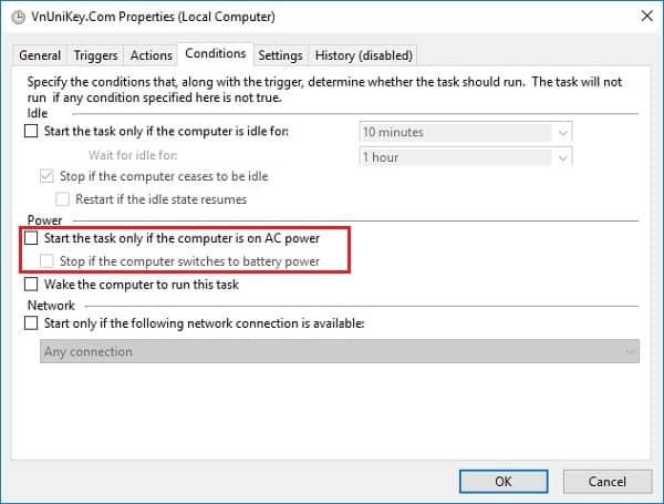 Cách tự động luôn chạy Unikey bằng quyền Admin 15