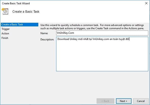 Cách tự động luôn chạy Unikey bằng quyền Admin 3
