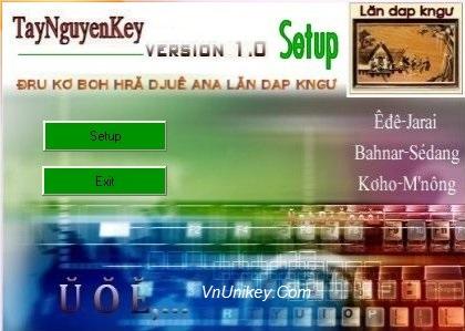 Hướng dẫn cách cài đặt Tây Nguyên Key trên máy tính Windows 1